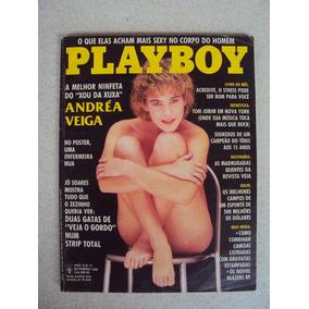 Revista Playboy Andréa Veiga N° 158 Set/88