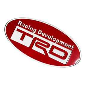 Emblema Toyota Trd Racing Development Acessório Prius Hilux