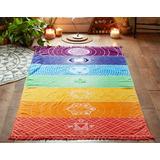 Manta Yoga, Chakras, Mandala, Meditacion, Playa,