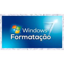 Cd/dvd Formatação Para Windows 7 ( Todas As Versões)