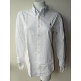 Camisa Algodon Oxford Ralph Lauren Talla Xl Mujer