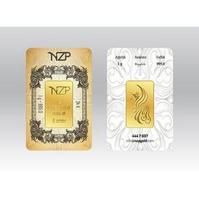 Lingote De Oro 1 Gramo De 24 Kilates Oro Fino Nzp Turq