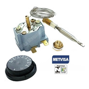 Termostato Regulador Bivolt Para Fritadeira Elétrica Metvisa