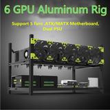 6/19 Gpu Aluminio Apilable Aire Libre Minería Plataforma