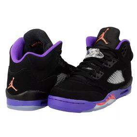 Tênis Nike Air Jordan 5 Retro Raptors Gg, Imediato