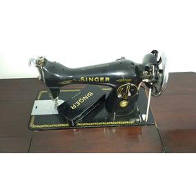 Máquina De Costura Antiga Singer, Restaurada.