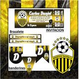 Kit Imprimible Deportivo Tachira Candy Bar Futbol Fiesta