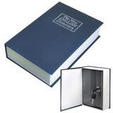 3x Cofre Camuflado Forma De Livro Dicionário C/chave Pequeno