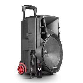 Caixa De Som Amplificada Multiuso Frahm Cm 500 Bluetooth Usb