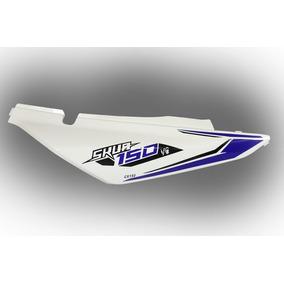 Cacha Bajo Asiento Derecho Blanco/azul Motomel Skua 150 V6