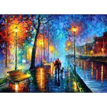 Pintura Al Óleo Melody Of The Night Por Leonid Afremov