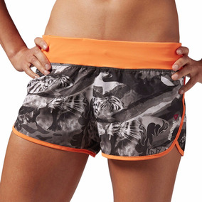 Short Atletico One Series Crazy Camo Mujer Reebok Aj0763
