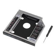 Caddy Adaptador Segundo Disco Notebook Hdd Sata O Ssd 12.7mm