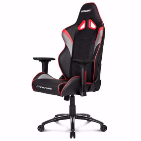 Silla Gamer Akracing Overture Black And Red - Ergonómica