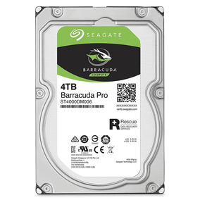Disco Rigido Seagate Barracuda Pro 4tb 128mb 7200rpm