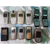 Lote Nokia 1100, 6100, 6101, 3120, 3310, 3250 (no Estado)