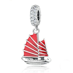 charm pandora barco de vela