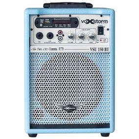 Caixa Multi-uso Voxstorm 6 Vsu-150 Usb/fm/bluetooth Azul