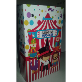 Sacolinhas Personalizadas - Circo Infantil - Festa