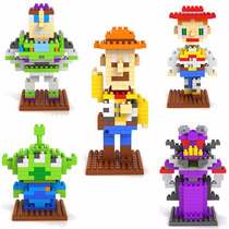 Figura Armable Tipo Story, Woody, Buzz, Jessie,