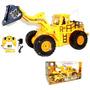 Carro Con Contro Remoto Maquina Tractor Bulldozer Juguete