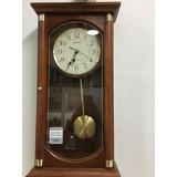 Reloj De Pared Seiko Antiguo Madera