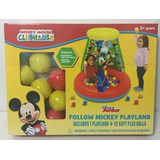 Mickey Mouse Disney Pelotero Inflable C/15 Pelota Bs Jyj3286