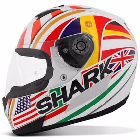 Capacete Shark Helmets S700 Special Edition Zarco Branco