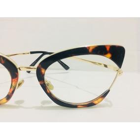 Oculos De Grau Feminino Grande Tartaruga Quadrado -di1002. R  134 90 3a43274702