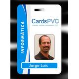 Crachás, Cartões Personalizados, Em Pvc