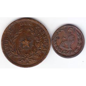 Paraguay 1/12 De Real 1845 Y 4 Céntimos 1870.