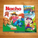 Libro Lectura Nacho + Matemáticas Para Niños Jardín Escolar