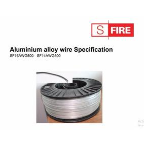 Cable Aluminio Cerca Eléctrica Calibre 16 500mts Sf16awg500