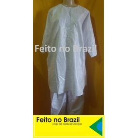 Conjunto Africano/roupa Senegal Branco