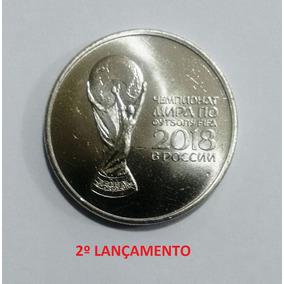 Moeda Rússia Copa Do Mundo Fifa 2018 25 Rublos Fc 2º Lote
