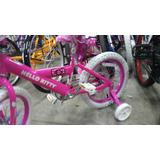 Bicicleta Hello Kitty Original Aro 16 Nueva