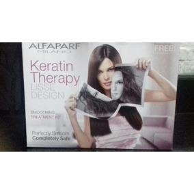 Tratamieno De Keratina Alfaparf Keratin Therapy Sin Formol