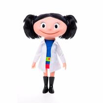 Boneca Luna Cientista Desenho O Show Da Luna Discovery Kids