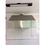 Coifa Fogão Cozinha Industrial Aço 403 Exaustor 90x80x85cm