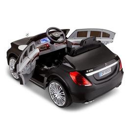 Carro Eléctrico Con Control Remoto Mercedes Sl600 Negro