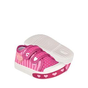 Zapatos Atleticos Y Urbanos Charly 1060500 13-18 Textil Rosa