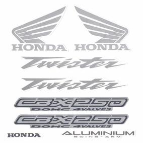 Kit Adesivos Honda Cbx250 Twister 2004 Vermelha