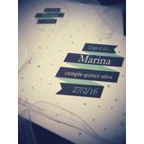 Tarjetas Invitaciones Casamiento 15 Años Comunión Bautismo
