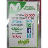 Sim Card Movistar Para Negocio X50