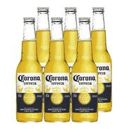 Corona Porron . Cerveza . 330ml X 6 - Tomate Algo® -