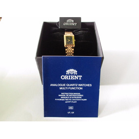 Reloj Orient Dama Cuarzo Fubjj001b0 |watchito|