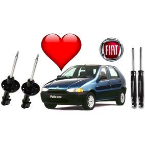 4 Amortecedor Fiat Palio 96 97 98 99 00 Jogo Remanuf
