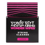 Limpiador De Cuerdas Wonder Wipes Pack De 6 Ernie Ball
