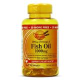 Óleo De Peixe Fish Oil 1000mg - Natural Wealth - 70 Softgels