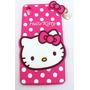 Funda Hello Kitty Sony Xperia Z4 Silicona Zona Microcentro